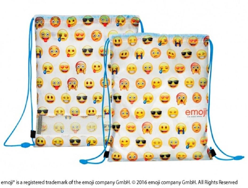 Dětská Taška Na Přezůvky / Gym Bag Smajlící / Emoji