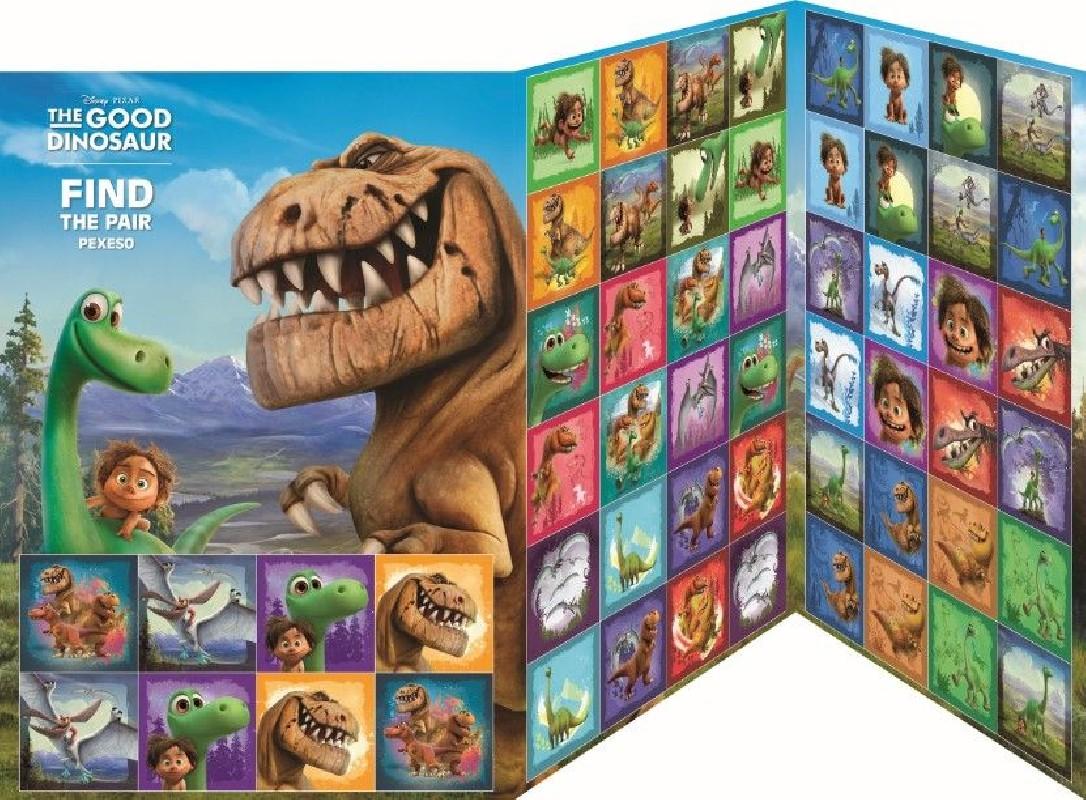 Pexeso Pro Děti Hodný Dinosaurus 28Dvojic
