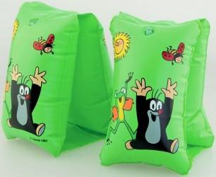 Nafukovací rukávky Krteček Zelené 23x15cm