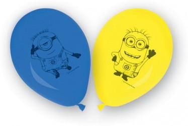 Balónky nafukovací Mimoni 8 ks