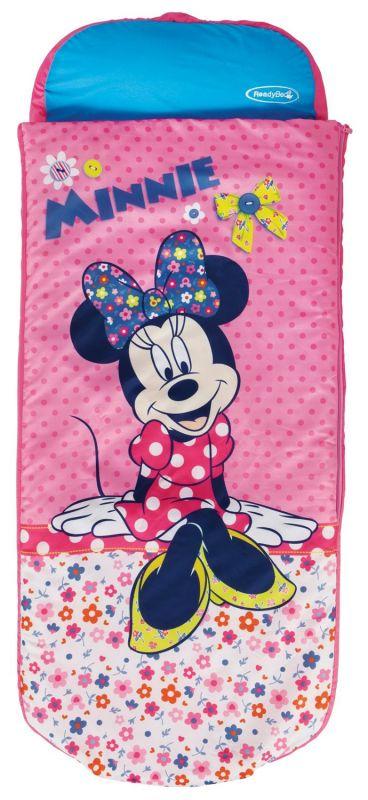 Nafukovací Matrace / Postel Se Spacákem Minnie Mouse Růžová