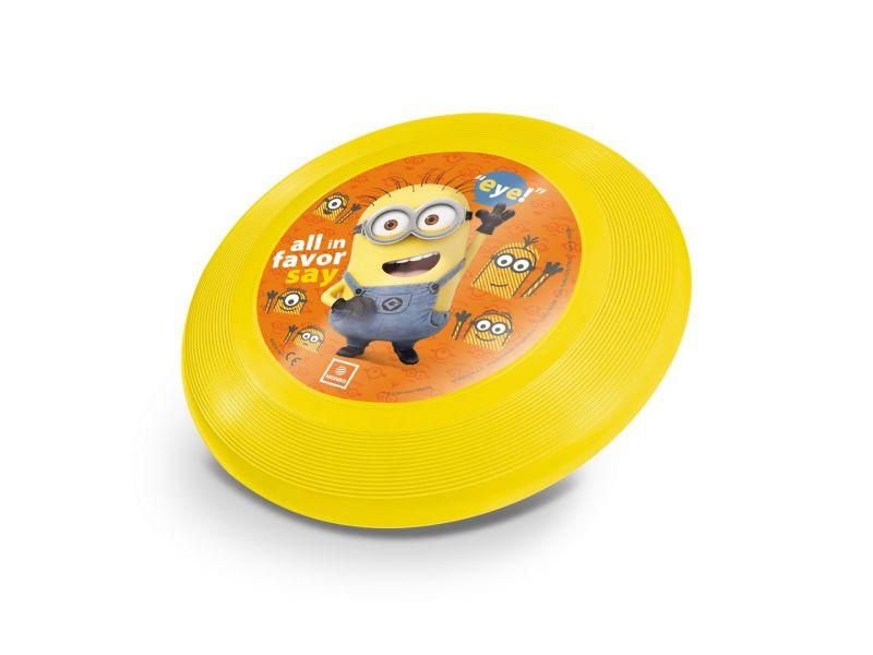 Létající Disk / Talíř Mimoni Žlutý 23 Cm