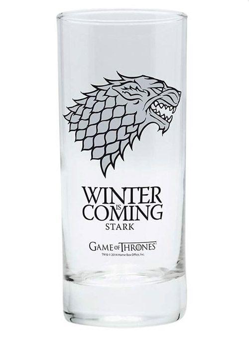 Sklenice Sklo Čiré Hra O Trůny / Game Of Thrones Winter Is Coming 290 Ml