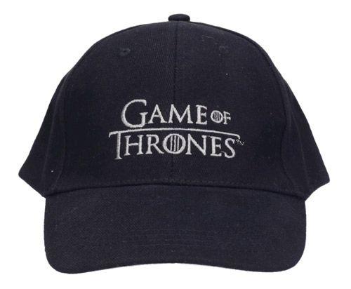 Čepice Baseballová Kšiltovka Hra O Trůny / Game Of Thrones Logo Černá