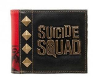 Peněženka s kovovými hroty Suicide Squad / Sebevražedný oddíl