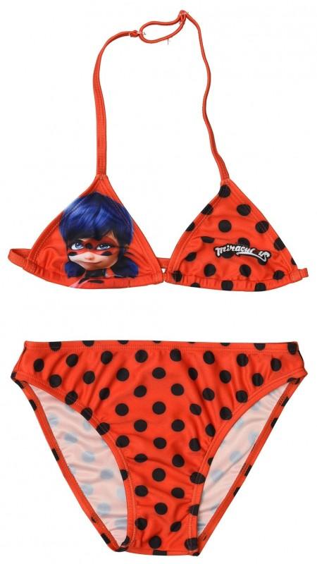 Dívčí Dvojdílné Plavky Miraculous Ladybug / Zázračná Beruška