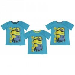 tričko s krátkým rukávem modré Mimoni / Black Friday