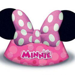 Klobouk papírový Minnie 6 ks