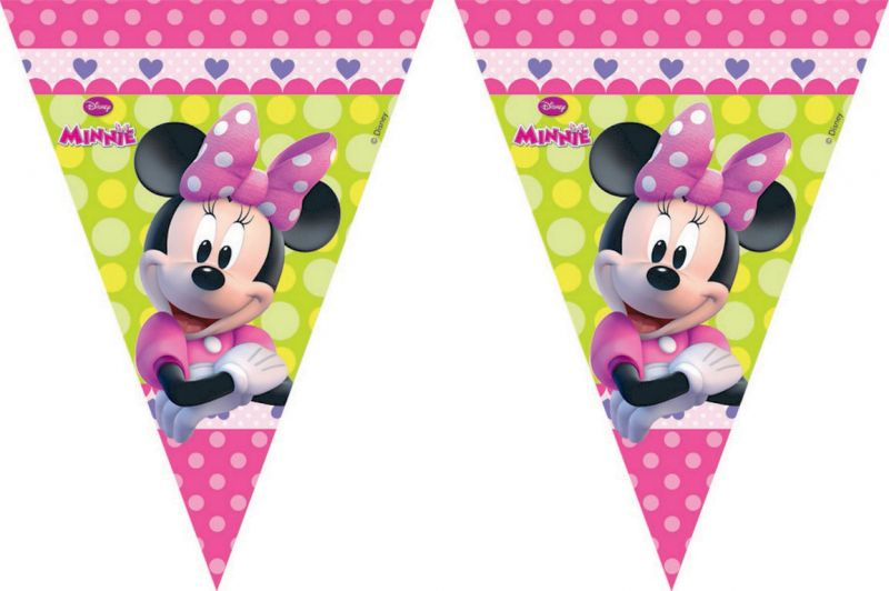 Girlanda / Vlajky Minnie Mouse  2,3 M