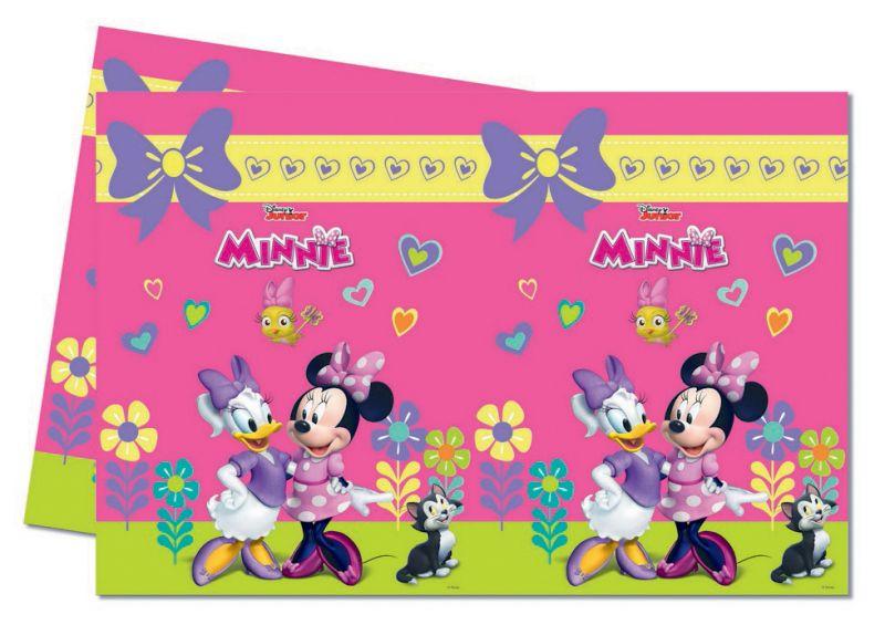 Ubrus Igelitový Minnie Mouse Růžový 120 X 180 Cm