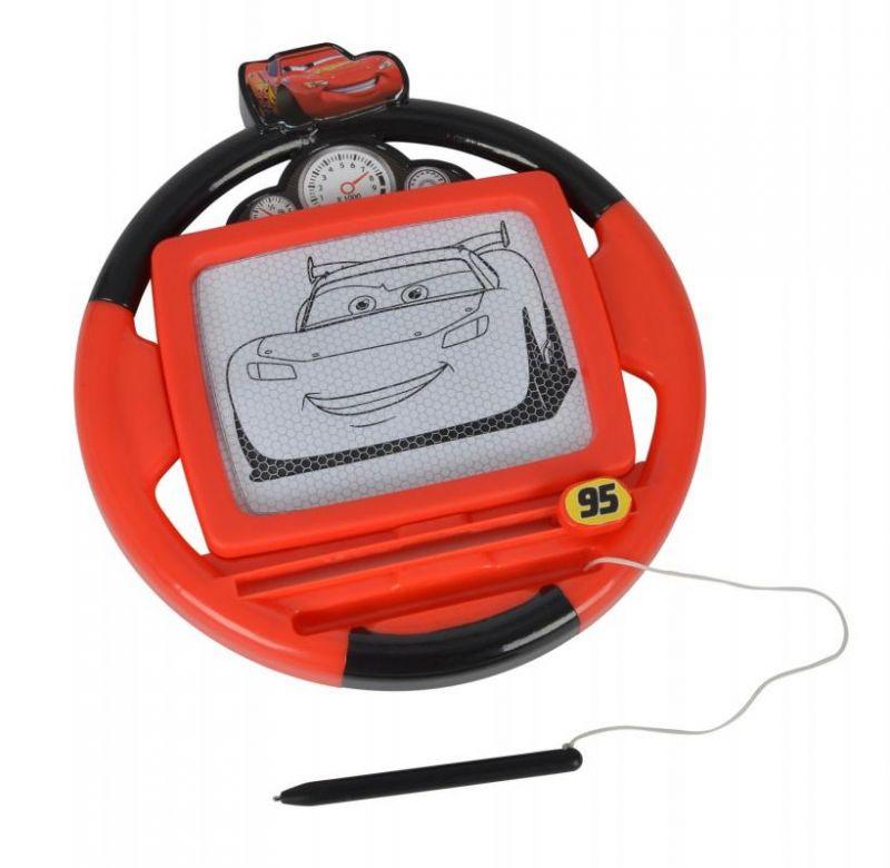 Volant / Kreslící Tabulka Magnetická Cars / Auta Červená