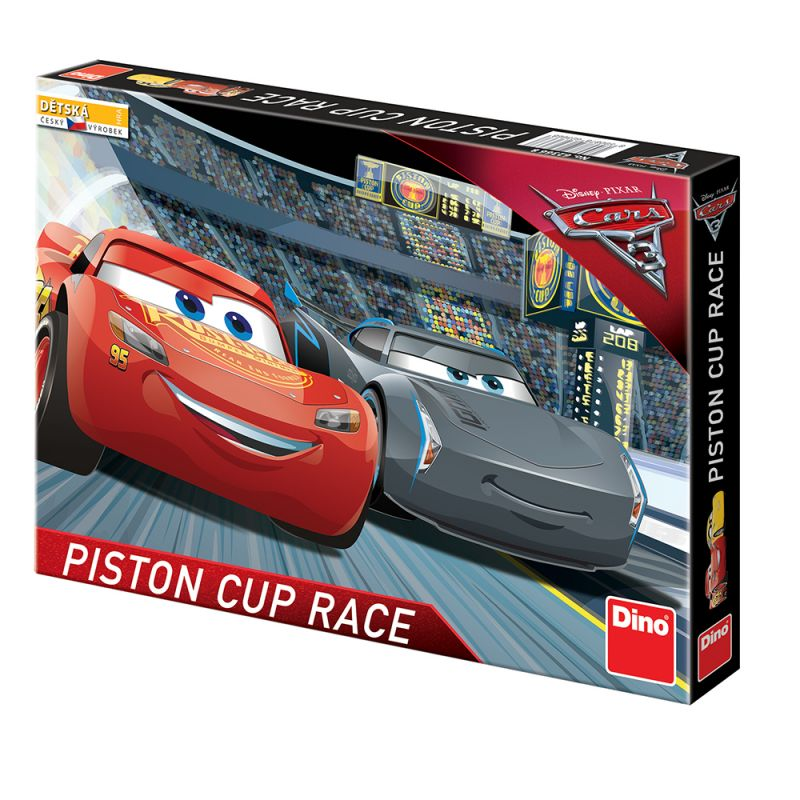 Stolní Hra  Člověče Nezlob Se Auta / Cars 3 Piston Cup Race
