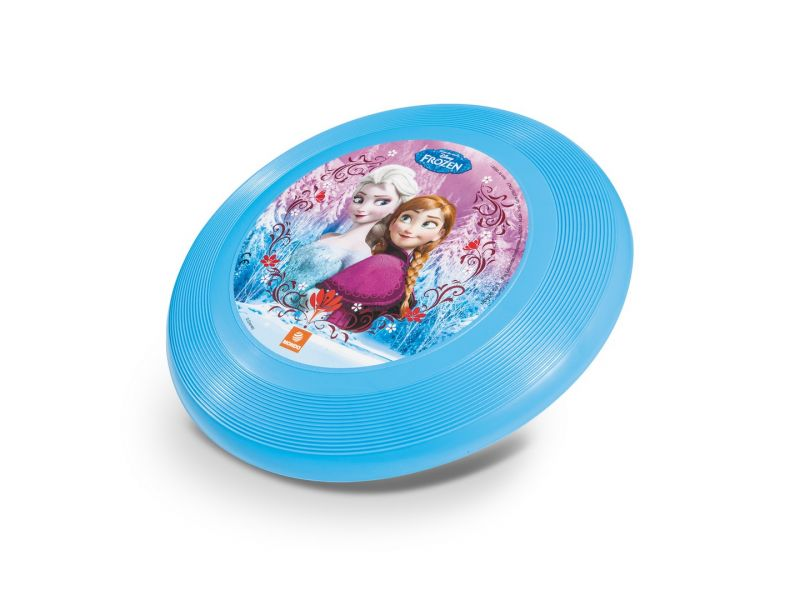 Disk létající Frozen / Ledové království 23 cm modrý
