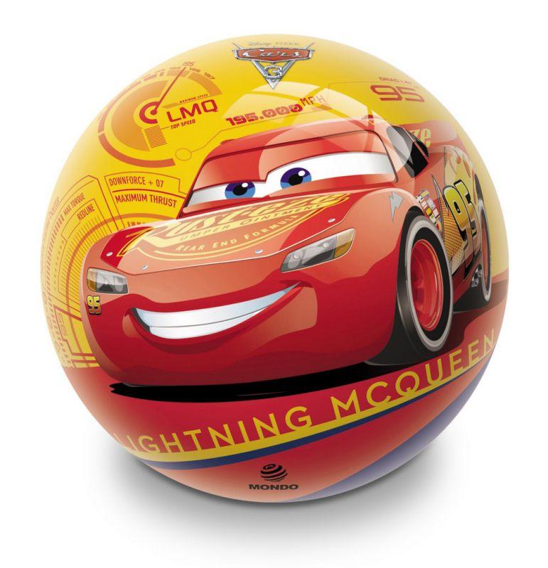 Míč gumový  Auta / Cars 14 cm Mc Queen