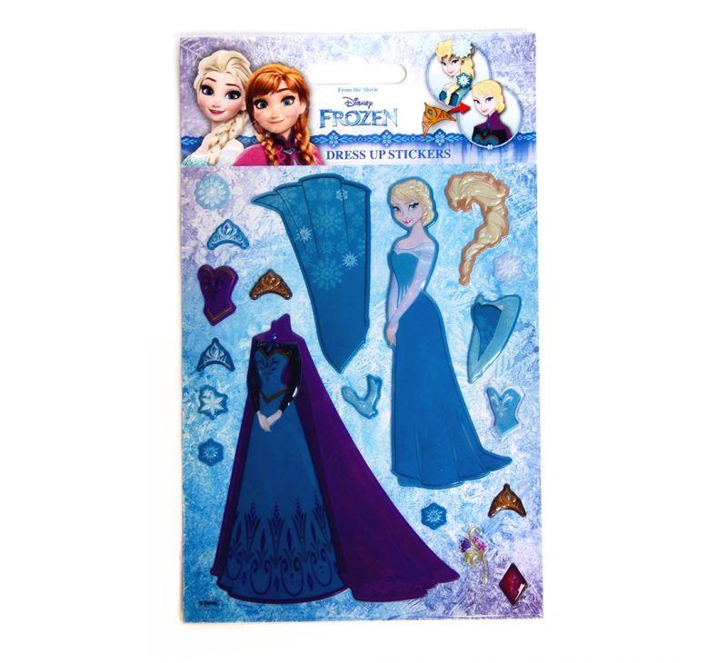 Samolepky Oblečení Frozen / Ledové Království RAP-068679