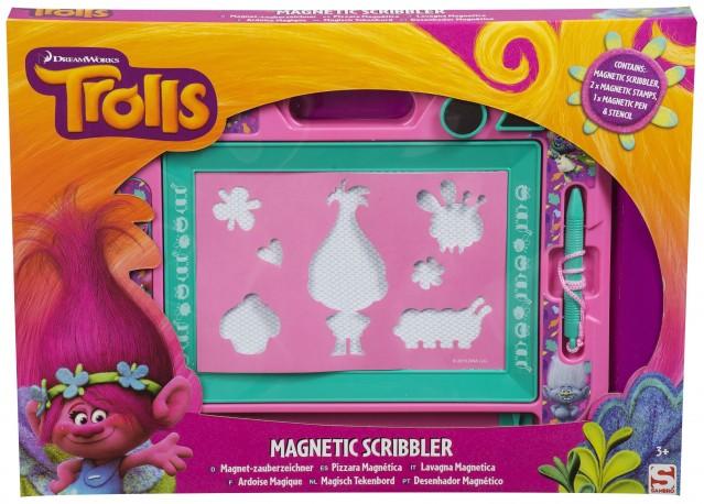 kreslící magnetická tabulka Trollové / Trolls