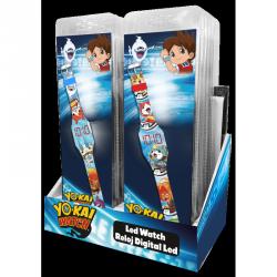 Dětské digitální LED hodinky Yo-Kai Watch / vecizfilmu