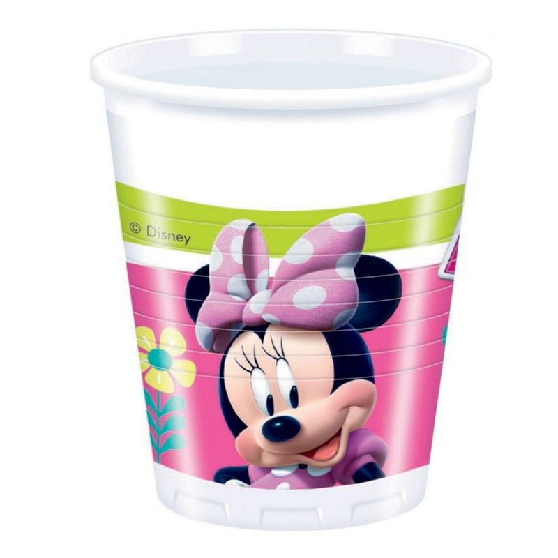 kelímky 200 ml Minnie 8 ks