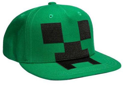 a3a0c179a Čepice Baseballová / Kšiltovka / Rap Minecraft Creeper Zelená 54