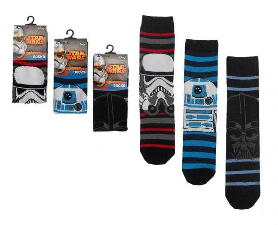 Dětské Bavlněné Ponožky Star Wars 24b2194765