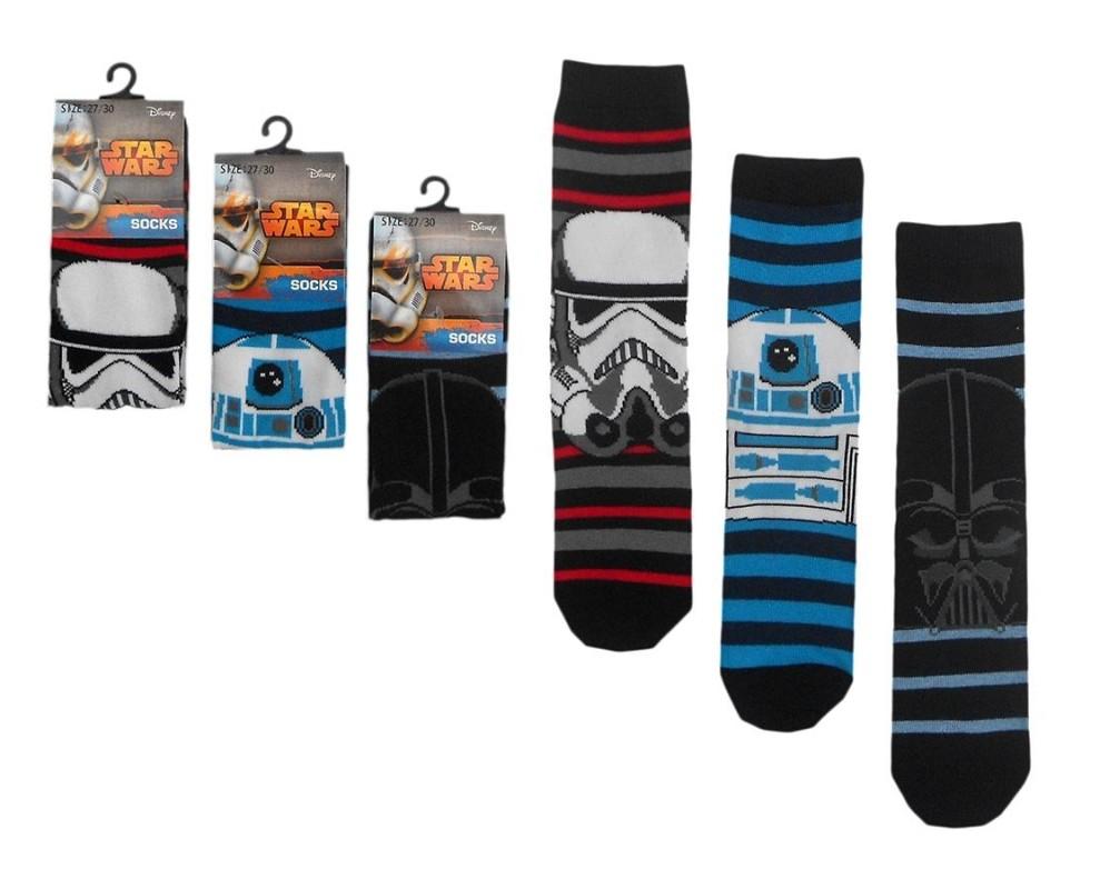Dětské bavlněné ponožky Star Wars