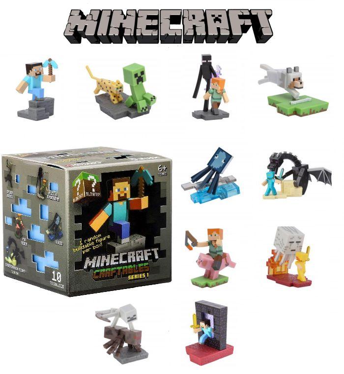 Minecraft Plastová Skládací Figurka