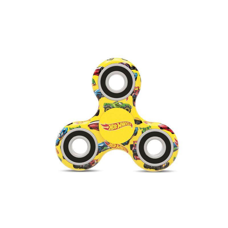Fidget Spinner Hot Wheels žlutý