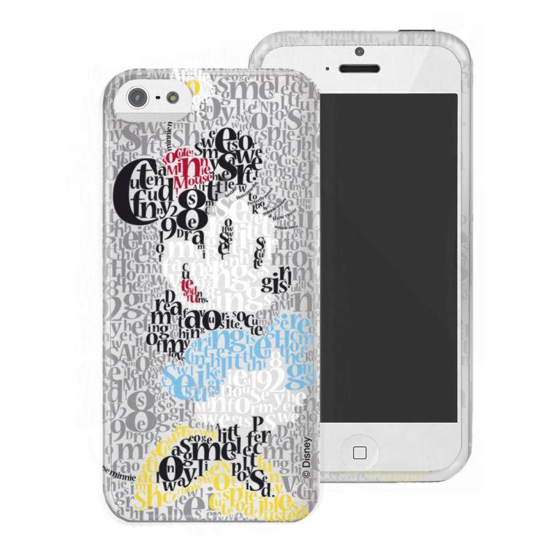 Kryt Na Telefon Minnie Mouse Iphone 5   5S+ Šedý 0e3b4cd3b00