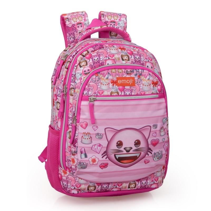 Školní Dívčí Batoh Emoji   Smajlíci 723daa8064