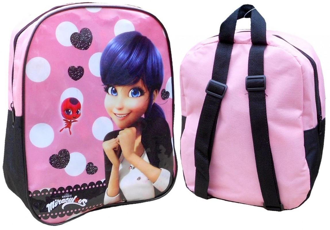 5de02a13c35 Dětský Školní Mini Batoh Růžový Zázračná Beruška   Miraculous Ladybug