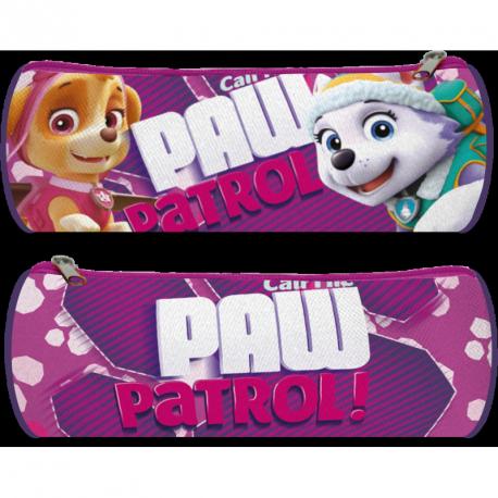 Oválný penál pro dívky fialový  Paw Patrol
