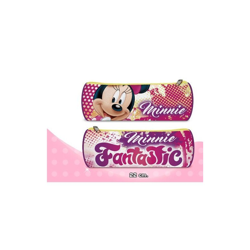 Oválný Penál Růžový Minnie Mouse Fantastic
