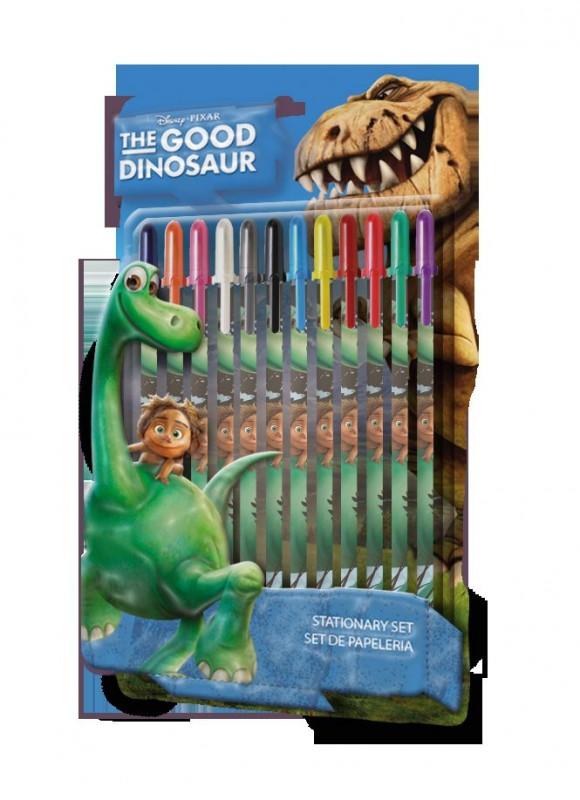 Sada 12 Ks Gelových Propisek Hodný Dinosaurus
