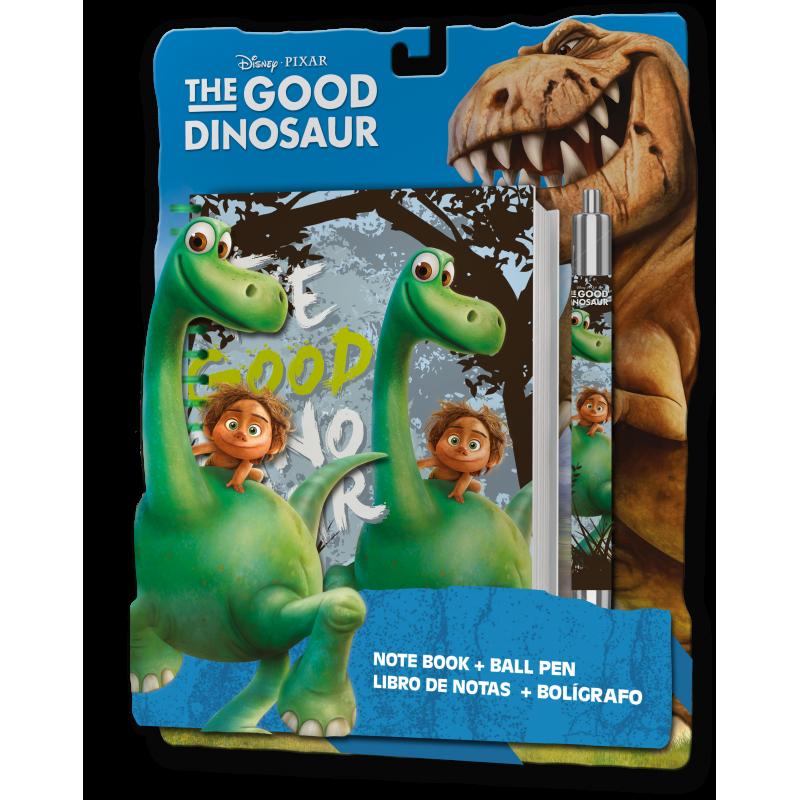 Sada Školních Potřeb Hodný Dinosaurus Notes A Kuličkové Pero / Propiska