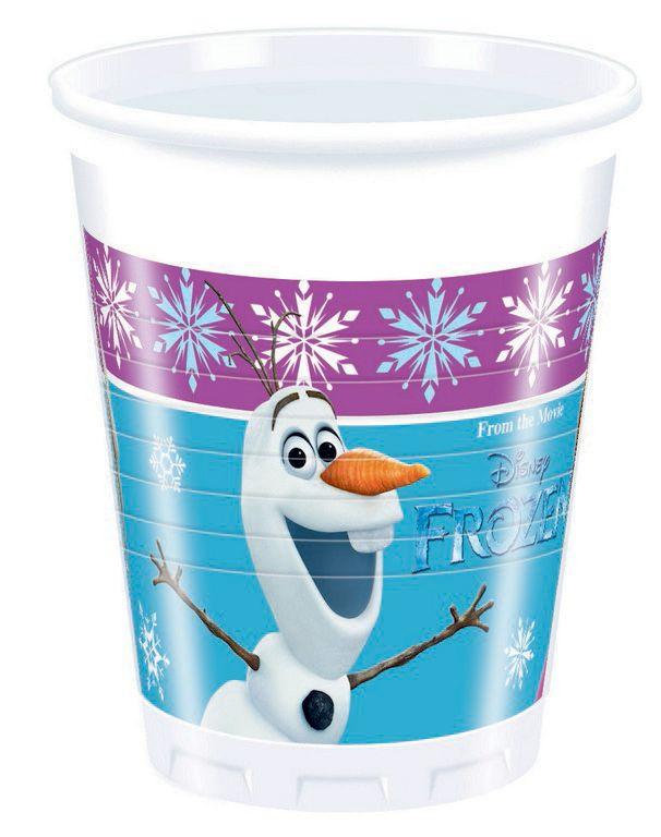 Kelímky 200 ml Frozen / Ledové království 8 ks