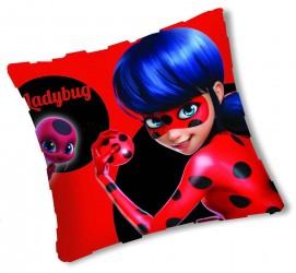 Polštář Pro Holky Červený 35 X 35 Cm Miraculous Ladybug / Zázračná Beruška