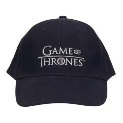Černá Kšiltovka S Logem Hra O Trůny   Game Of Thrones 5baea51f69