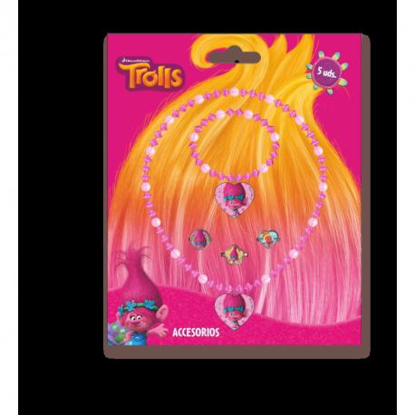 Dívčí korálková bižuterie Trollové/Trolls
