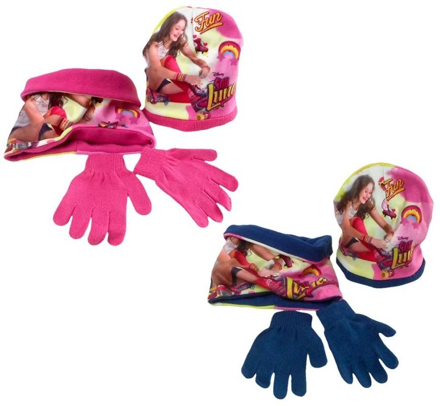 Podzimní / zimní nákrčník a rukavice pro holky Soy Luna